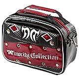 マイノリティ・コレクション Minority Collection ラウンド小物 MC-AGAIN ミニバッグ 10602 ブラック/レッド