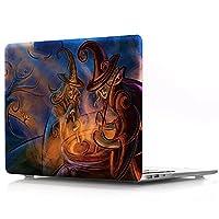 ProElife Macbook Air 13インチ 用 保護ケース (フィットモデル: A1369/ A1466) コンピュータ PC プラスチック ハードシェル 保護カバー (for Macbook Air 13 インチ, 魔女)