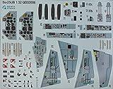 クインタスタジオ 1/32 Su-25UB 内装3Dデカール (トランぺッター用) プラモデル用デカール QNTD32006