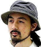 (チャンピオン) Champion メンズ 帽子 ハット ブランド バケットハット ウォッシュ サファリハット 3color F ブラック