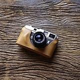 cam-in (カムイン) カメラケース ライカ Leica M6 , M7 , MP , M2 , M3 , M4用 イタリアンレザー (CA033シリーズ, ライトブラウン)