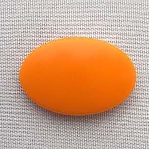 ゼッケン留め BIBFIX無地(オレンジ)5個1組×1(5個)