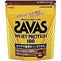 ザバス(SAVAS) ホエイプロテイン100+ビタミン チョコレート味 【120食分】 2,520g