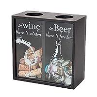 ボトルキャップや、ワインのコルクをお洒落にストック♪ キーストーン ボトルキャップストッカー ワイン&ビール BOCASTWB 〈簡易梱包