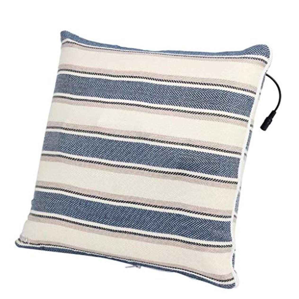 進むごめんなさいドーム電動マッサージ枕、背中、首、肩、足の3D指圧マッサージャーで筋肉をほぐし、痛みを和らげ、持ち運びが簡単