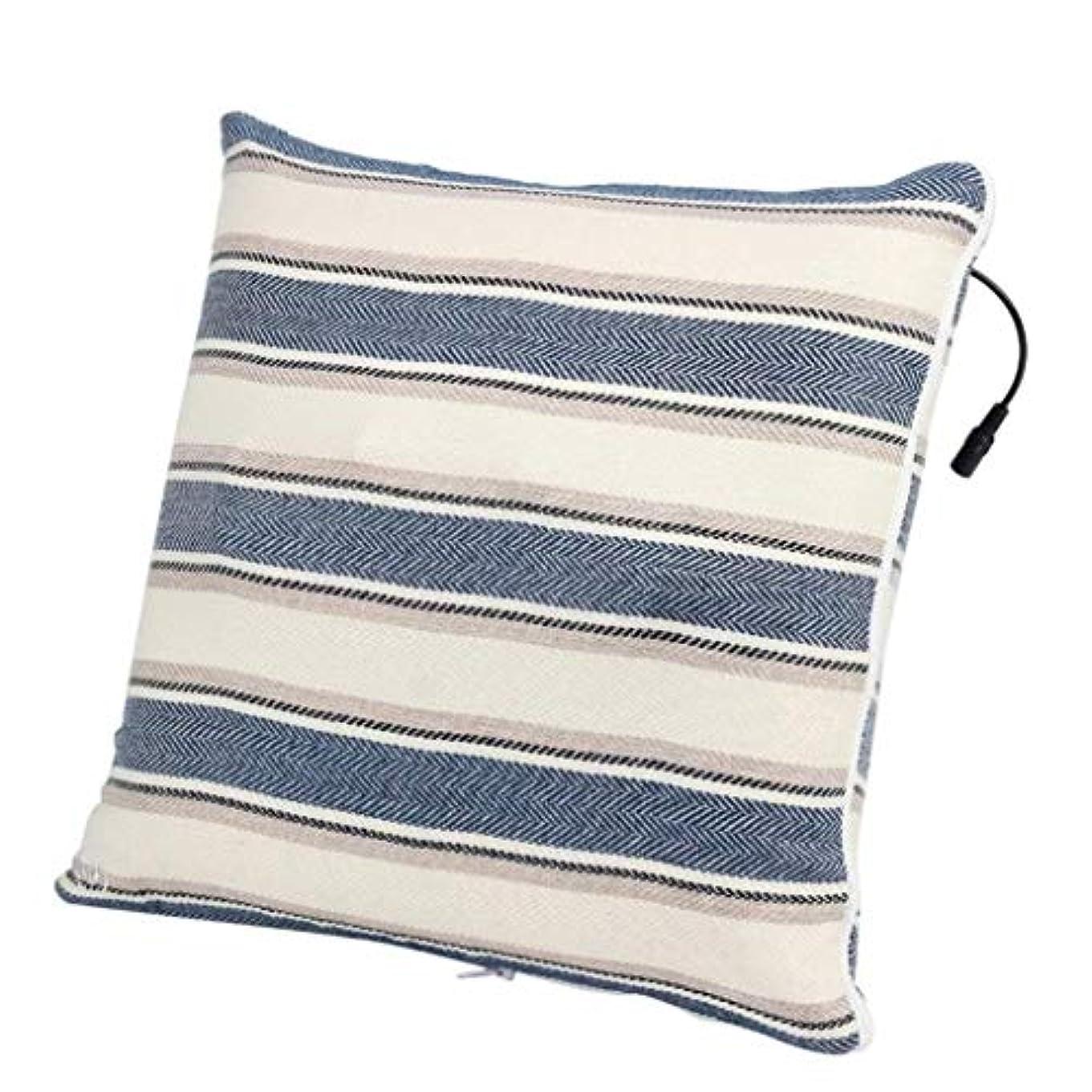 ふくろう同化する信号電動マッサージ枕、背中、首、肩、足の3D指圧マッサージャーで筋肉をほぐし、痛みを和らげ、持ち運びが簡単
