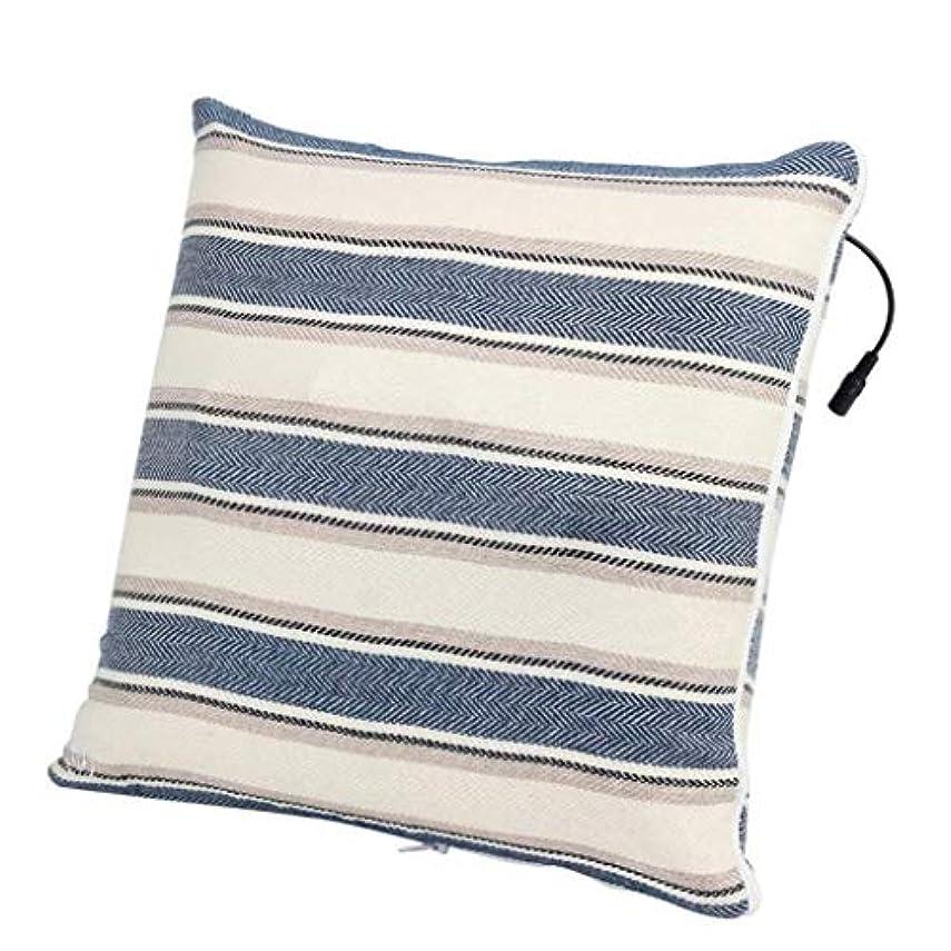 支出富ゆでる電動マッサージ枕、背中、首、肩、足の3D指圧マッサージャーで筋肉をほぐし、痛みを和らげ、持ち運びが簡単