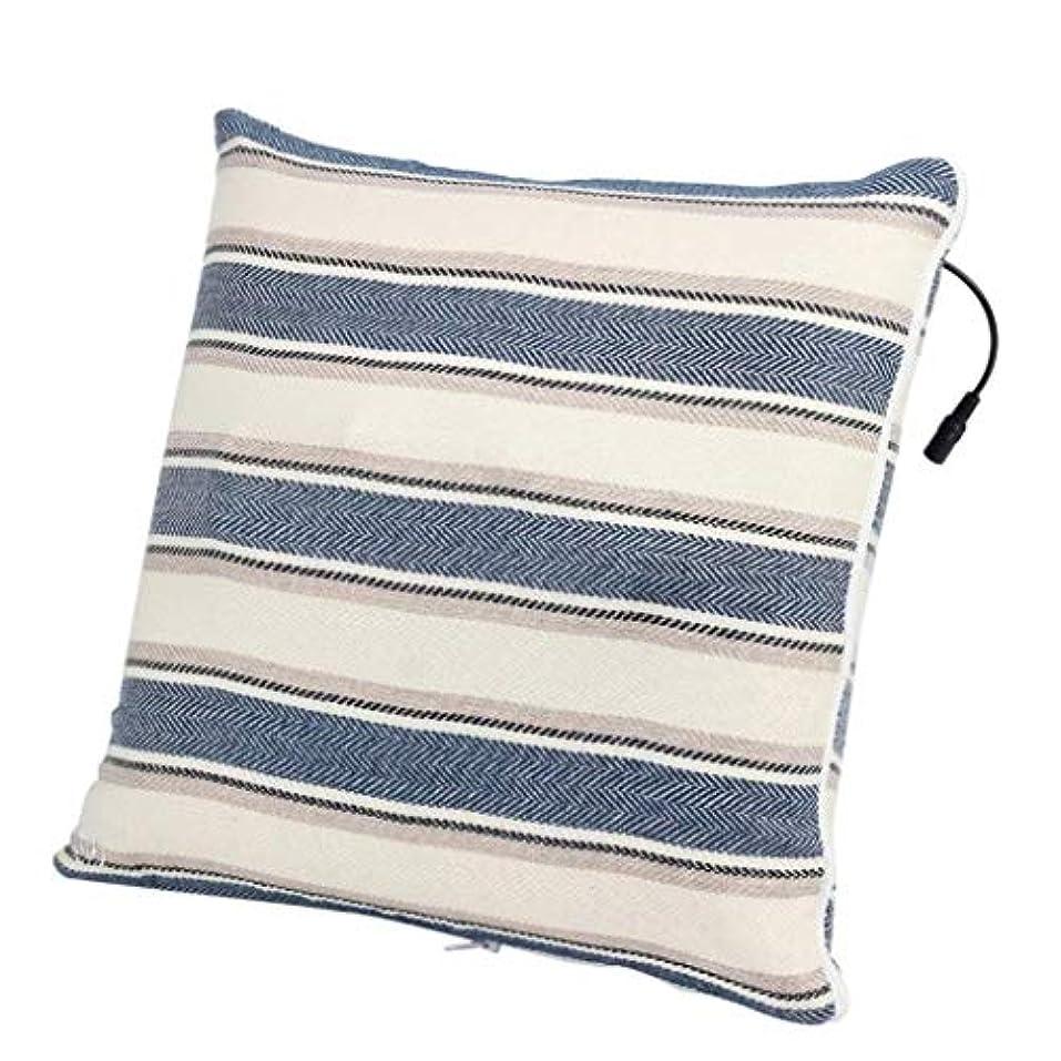 ハント美人みぞれ電動マッサージ枕、背中、首、肩、足の3D指圧マッサージャーで筋肉をほぐし、痛みを和らげ、持ち運びが簡単