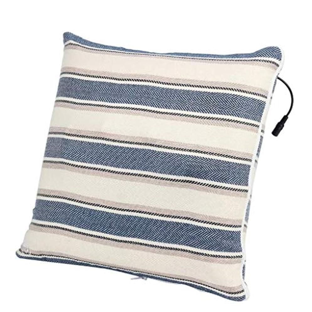 鼻単語湿原電動マッサージ枕、背中、首、肩、足の3D指圧マッサージャーで筋肉をほぐし、痛みを和らげ、持ち運びが簡単
