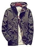 (ネルロッソ) NERLosso マウンテンパーカー メンズ パーカー フード メンズマウンテンパーカー 大きいサイズ 防水 撥水 防寒 ジャケット ブルゾン ジャンパー アウトドア L アーミーグリーン cmz24186-L-agr