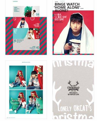 2PM テギョンデザイン OKCAT PHOTO BOOK (ONLY OKCATs Christmas 2016) okcatキャラクター
