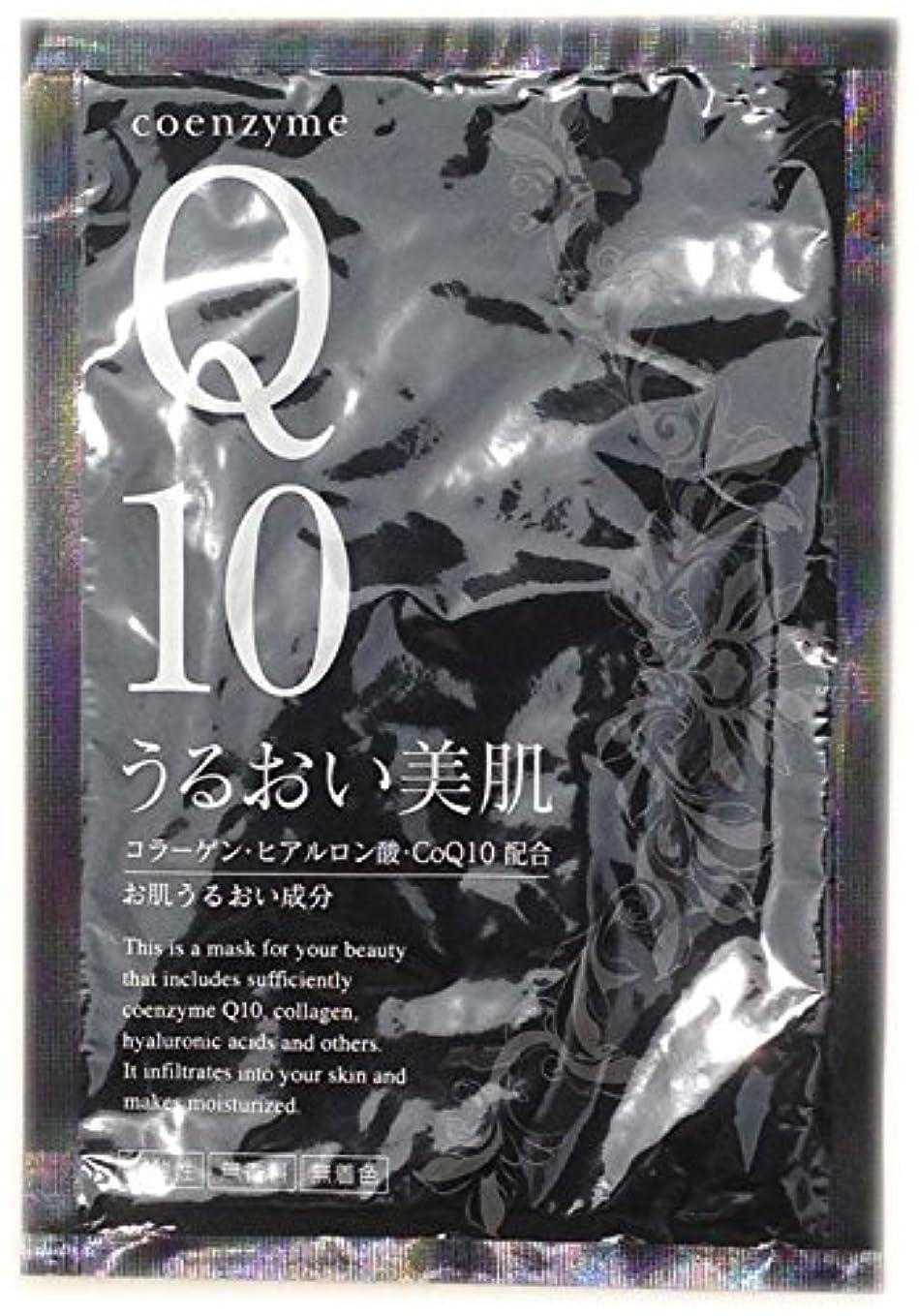 の頭の上違法メロンフェイシャルマスク CoQ10 うるおい美肌