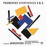 プロコフィエフ : 交響曲第2番 & 3番 / ウラディーミル・ユロフスキ | ロシア国立アカデミー管弦楽団 (Prokofiev: Symphony No.2 & 3 / Vladimir Jurowski & State Academic Symphony Orchestra of Russia) [SACD Hybrid] [Import] [日本語帯・解説付]