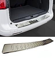 リアバンパーステンレスクロムポリッシュスチールプロテクタートリムカバーガードfor BMW x1e84M 13-up