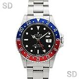 [ロレックス]ROLEX腕時計 GMTマスター ブラック/レッドブルーベゼル Ref:16750 メンズ [アンティーク] [並行輸入品]