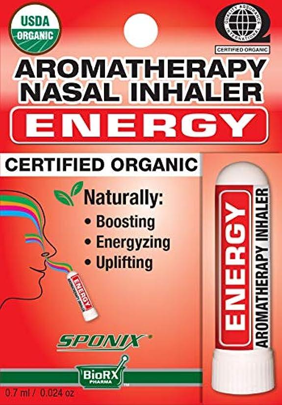 囚人ベッツィトロットウッド学習Sponixアロマテラピー鼻用吸入器 - エネルギー - 0.7 mL - USDAオーガニック、100%純粋な天然精油から作られた