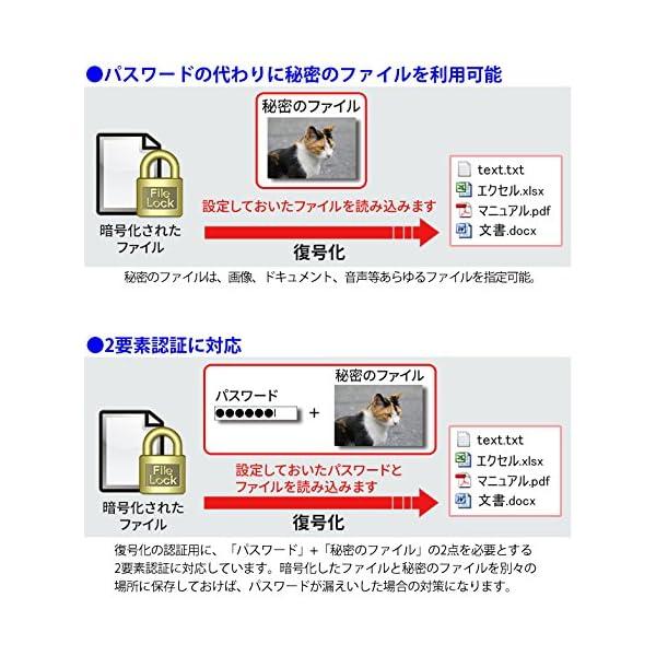 LB ファイルロック3 10ライセンスパックの紹介画像3