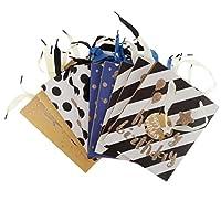 Baosity 12個 ギフトバッグ 結婚式 クリスマス 紙製 エコ 多種類 - #9