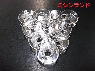【 ジャノメ 】家庭用ミシン用 ボビン(11.5mm) 10個入 日本製