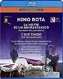 ニーノ・ロータ:2つのオペラ 歌劇《神経症患者の夜》 歌劇《二人の内気な男》 [Blu-ray]