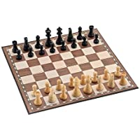 Jaques 3.5 inch Chess Set with Cardboard & Linen Board by Jaques London [並行輸入品]