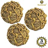 SunGrow Natural Seagrass Ball - Perfect & Safe Chewable Teething Toy for Rabbits, Cats, Hamsters, Gerbils & Birds : Healthy for Your Pet's Gums & Teeth