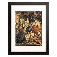 ピーテル・パウル・ルーベンス Peter Paul Rubens 「The Medici Cycle: The Felicity of the Regency. 1622-25」 額装アート作品
