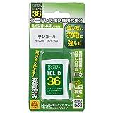 コードレス電話機用充電池_TEL-B36 05-0036