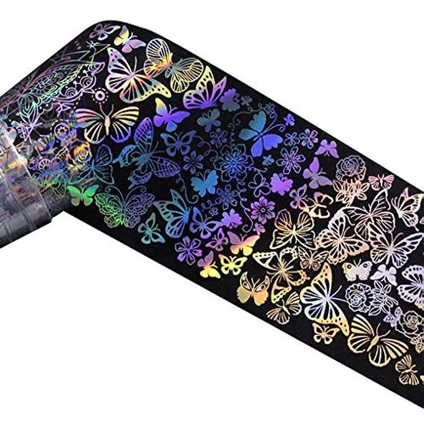 アルカトラズ島岸負荷Nerhaily ヨーロッパ風格 ネイルホイル ネイルシール ウォーターネイルシール 爪に貼るだけ ネイルデコレーション 全10種類 ロールネイルシール
