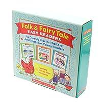 Scholastic Folk & Fairy Tale Easy Readers Box Set (15 Books + CD) フォーク&フェアリーテールリーダー 15冊・CD付きボックスセット