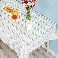 現代的なシンプルなテーブルクロスファブリックのチェック柄のテーブルクロスコンチネンタルパストラルの長方形のリビングルームのコーヒーテーブルクロス ( サイズ さいず : 140cm*200cm )
