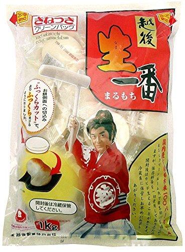 <越後製菓> 生一番まるもち【1kg】 ×10袋