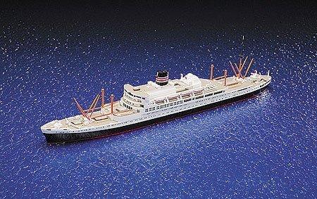 青島文化教材社 1/700 ウォーターラインシリーズ 日本郵船 八幡丸 プラモデル 507