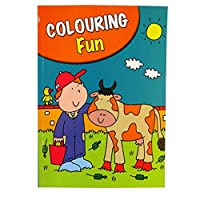 Boys A4 Colouring Book - 60 Pages - Farm, Dinosaurs, Animals and More - Book 2 - by Pennine