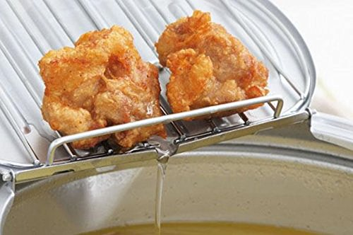 味楽亭II 温度計付き フタ付き天ぷら鍋 6枚目のサムネイル
