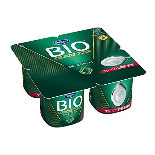 【冷蔵】【6個】 ビオ プレーン 砂糖不使用 4ポット