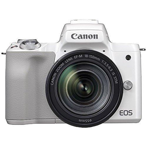 キヤノン EOS Kiss M EF-M18-150 IS STM レンズキット ホワイト