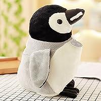 CHENGYI 漫画ラブリーポーラーベアペンギンホールドピローホームベッドサイドソファクッション子供誕生日ギフトぬいぐるみ (Design : Penguin, Size : 45cm)