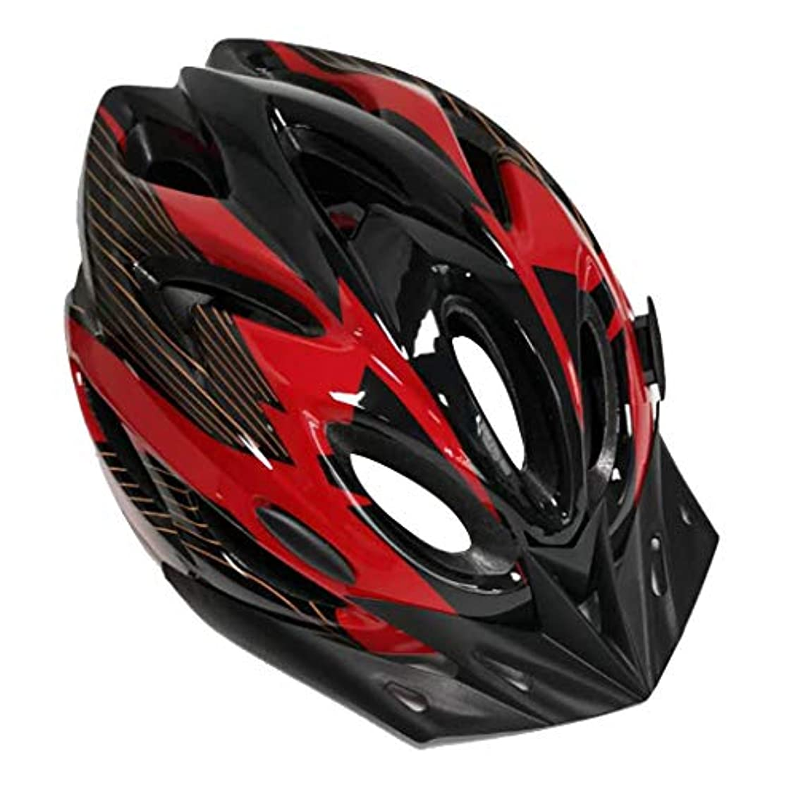 熱心レバー定常Perfeclan 自転車 サイクリング 大人用ヘルメット 男女用 超軽量 調節可能 衝撃軽減 全6色