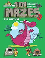 101 Mazes For Kids 3: SUPER KIDZ Book. Children - Ages 4-8 (US Edition). Purple Dinosaur custom art interior. 101 Puzzles with solutions - Easy to Very Hard learning levels -Unique challenges and ultimate mazes book for fun activity time!