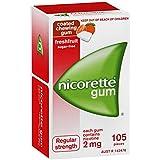 Nicorette Gum Fresh Fruit 2mg 105