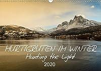 Hurtigruten im Winter - Hunting the light (Wandkalender 2020 DIN A3 quer): Norwegens Landschaft vom Hurtigrutenschiff aus gesehen (Monatskalender, 14 Seiten )