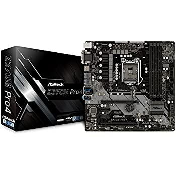 ASRock Intel Z370 チップセット搭載 Micro ATX マザーボード Z370M Pro4