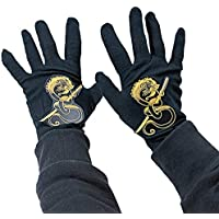 Rubies Child's Black Ninja Gloves [並行輸入品]