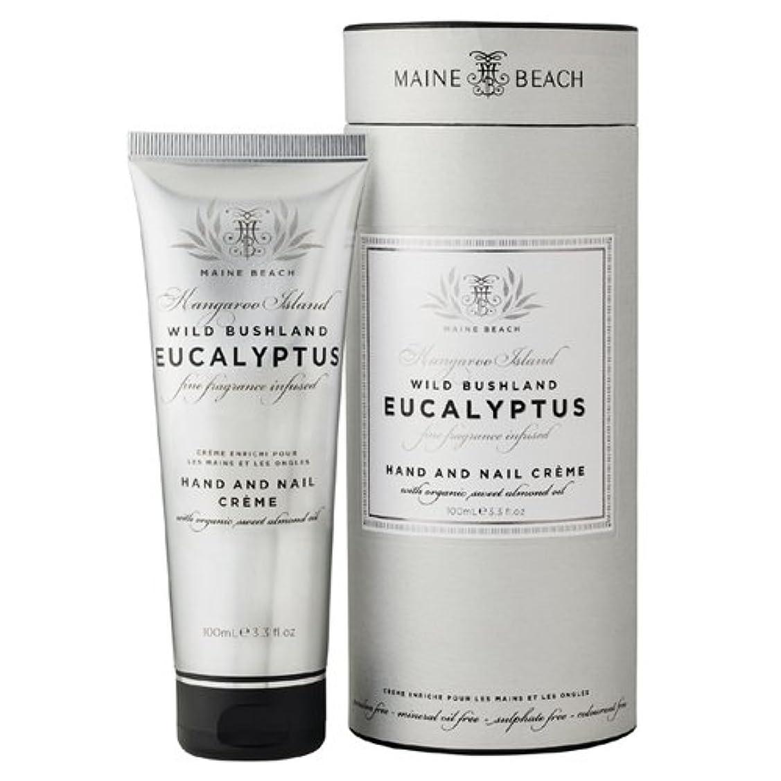 口径安心させる彼女のMAINE BEACH マインビーチ Eucalyptus Series ユーカリオイル ハンド&ネイルクリーム