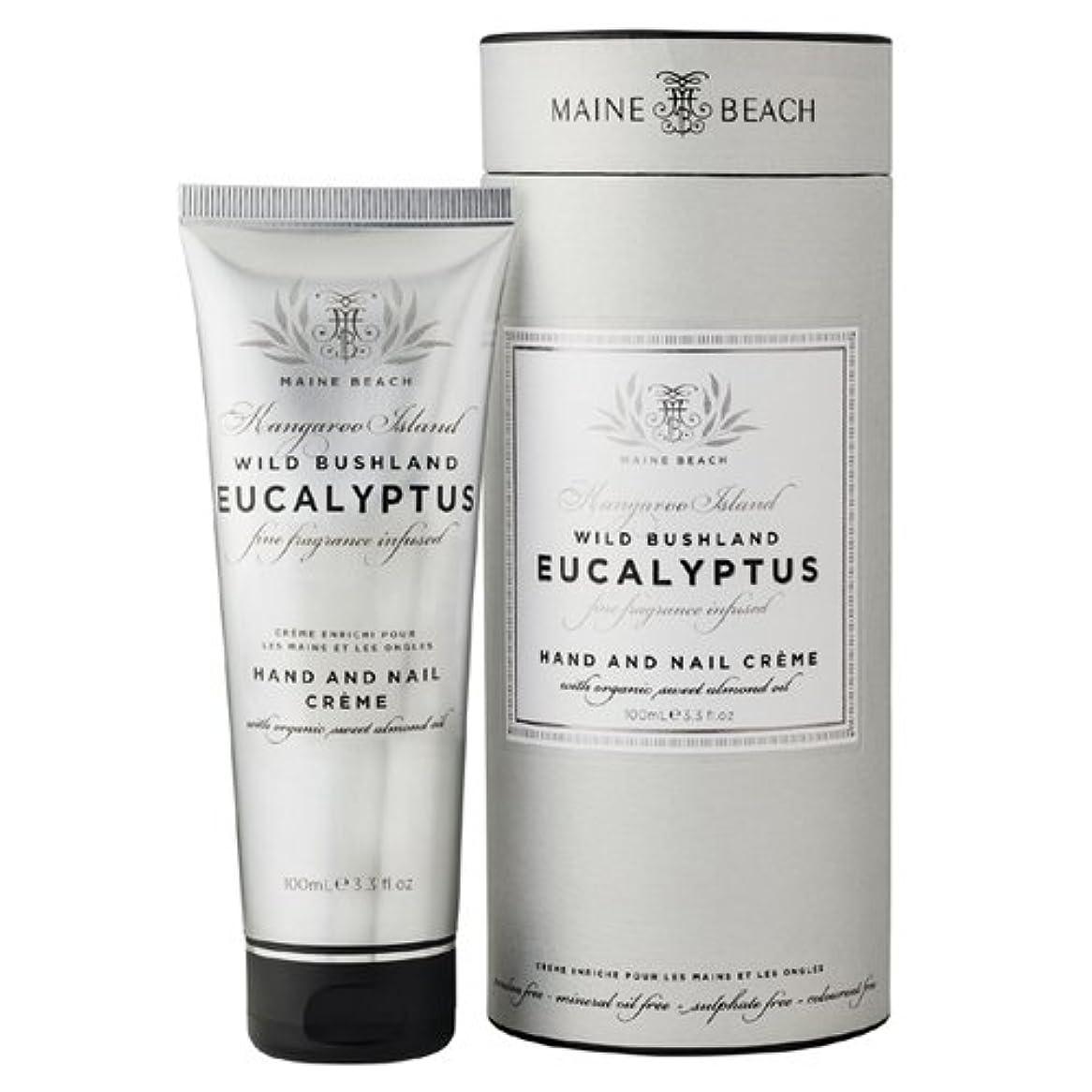 有効化蘇生するチョコレートMAINE BEACH マインビーチ Eucalyptus Series ユーカリオイル ハンド&ネイルクリーム
