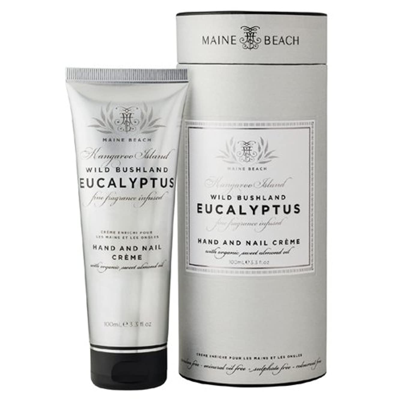 MAINE BEACH マインビーチ Eucalyptus Series ユーカリオイル ハンド&ネイルクリーム