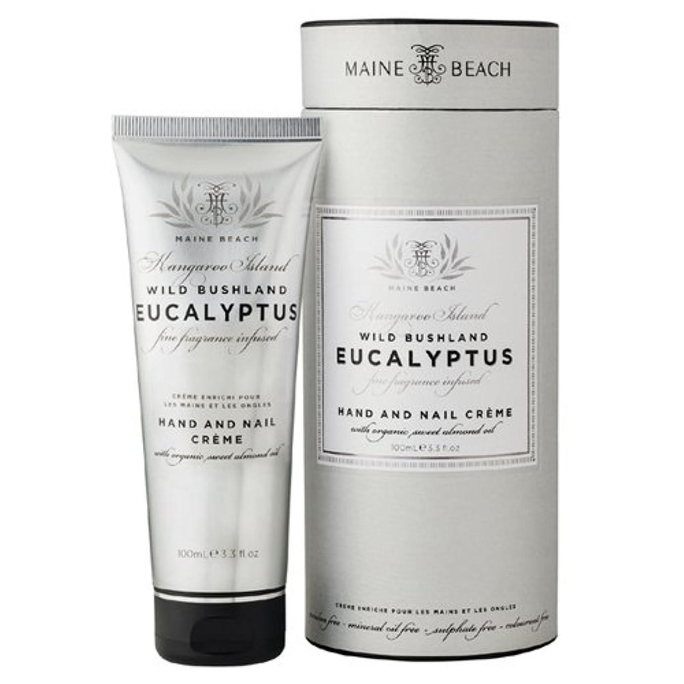 舗装する啓示お気に入りMAINE BEACH マインビーチ Eucalyptus Series ユーカリオイル ハンド&ネイルクリーム