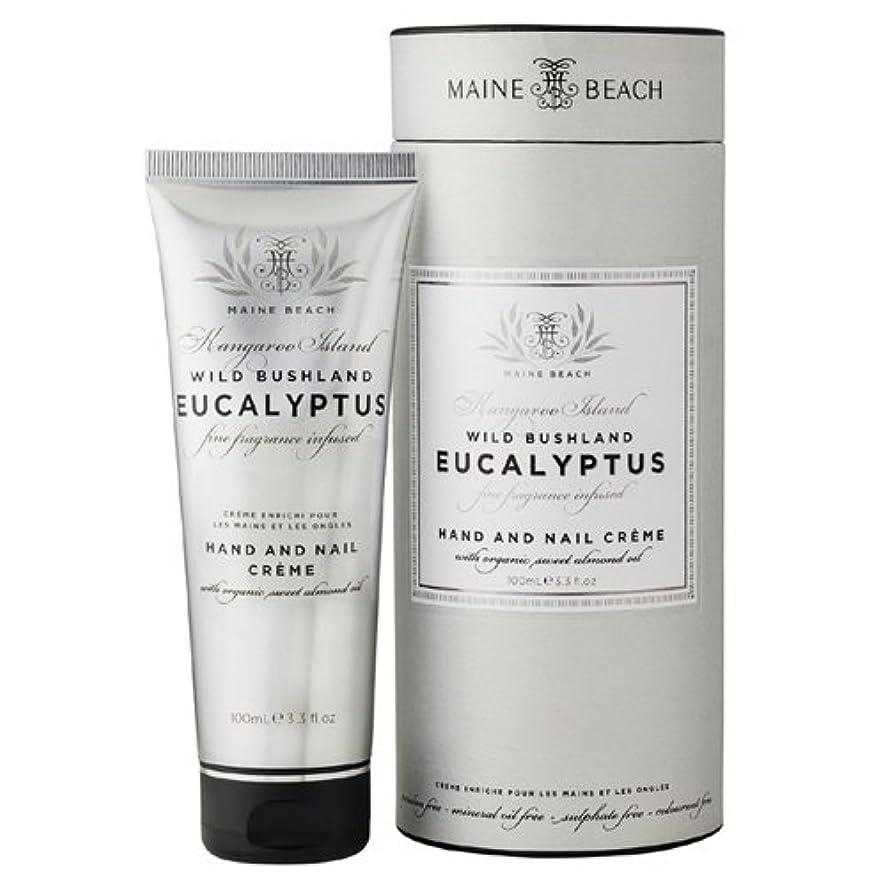 魅力的レオナルドダアスペクトMAINE BEACH マインビーチ Eucalyptus Series ユーカリオイル ハンド&ネイルクリーム