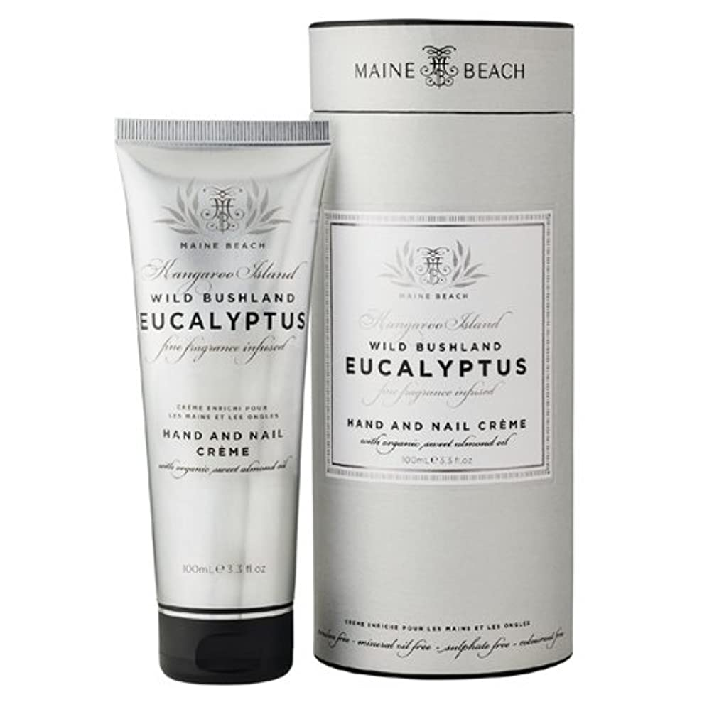 週末手荷物暴露MAINE BEACH マインビーチ Eucalyptus Series ユーカリオイル ハンド&ネイルクリーム